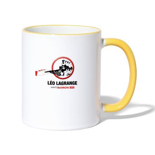 Léo Lagrange Nantes Aviron - Mug contrasté