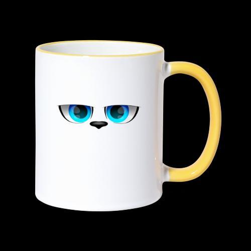 Hundeblick - Tasse zweifarbig