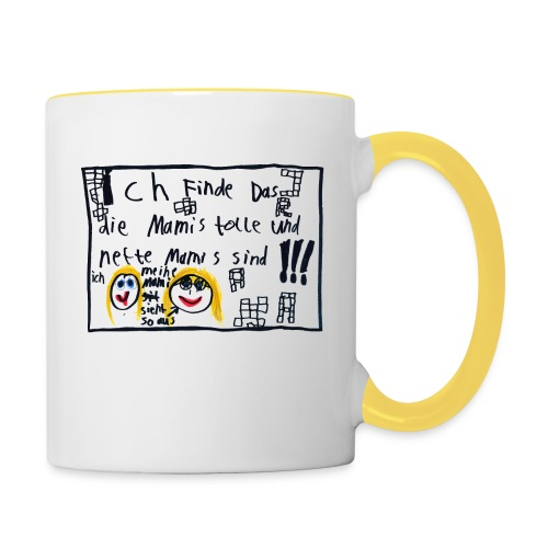 Muttertag, Mami's sind toll - Tasse zweifarbig