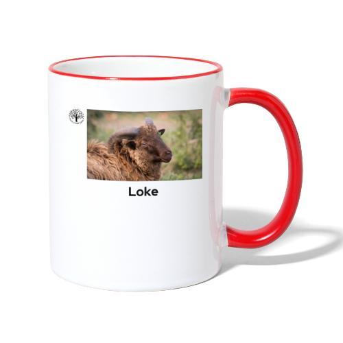 Loke - Tofarget kopp