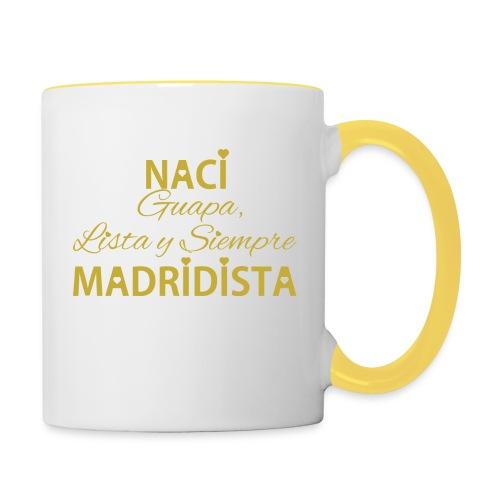 Guapa lista y siempre Madridista - Tazze bicolor