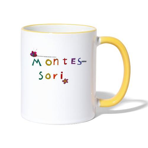 Happy Montessori - Kaksivärinen muki