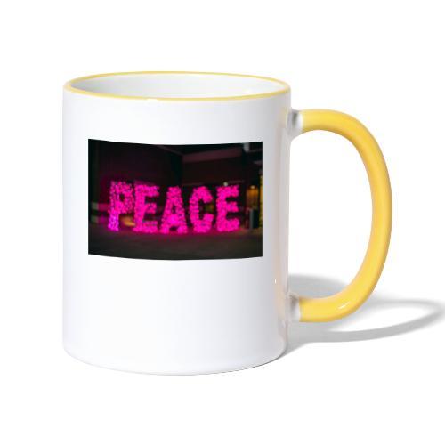 paz - Taza en dos colores