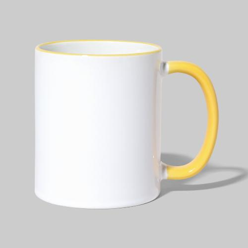 ISRAEL-white - Contrasting Mug