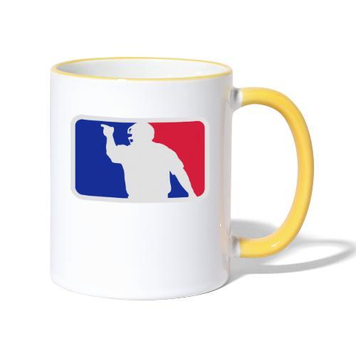 Baseball Umpire Logo - Contrasting Mug