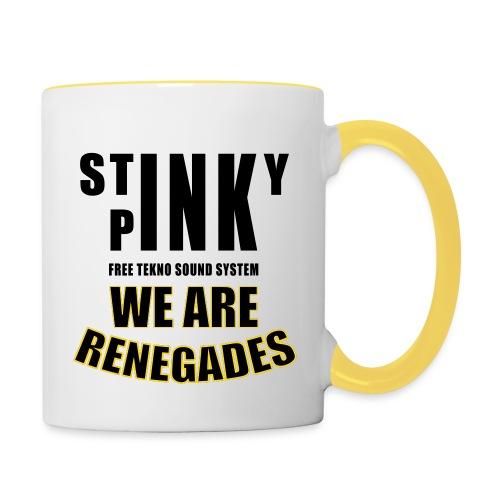 Stinky_Renegades_12_nostr - Contrasting Mug