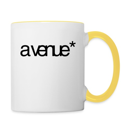 Logo AVenue1 80 - Mok tweekleurig