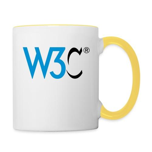 w3c - Contrasting Mug