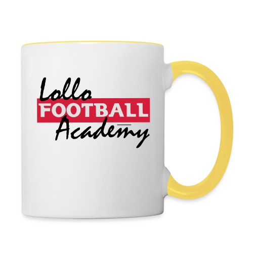 Hoodie - Lollo Academy - Tvåfärgad mugg