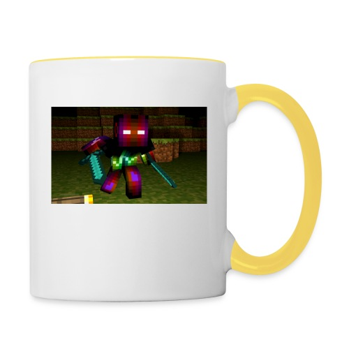 AwesomeSauce Minecraft 2 Swords - Contrasting Mug