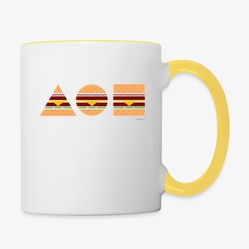 Graphic Burgers - Tazze bicolor
