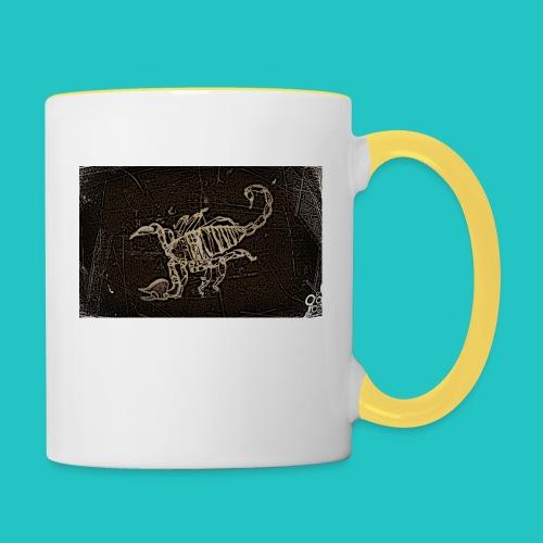 skorpion_grafika-jpg - Kubek dwukolorowy