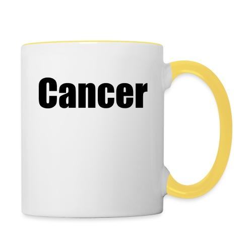 Cancer. - Contrasting Mug