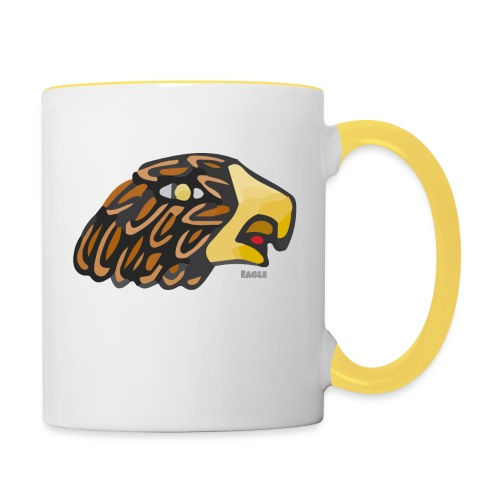 Aztec Icon Eagle - Contrasting Mug