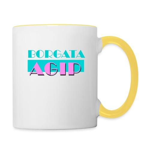 BORGATA AGIP - Tazze bicolor