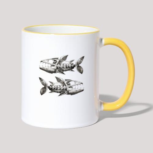 FishEtching - Contrasting Mug