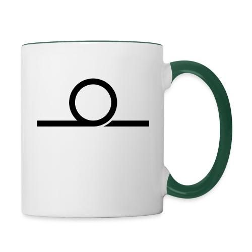 WHEEL LONG png - Contrasting Mug