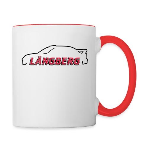 logotype Laengberg - Tvåfärgad mugg