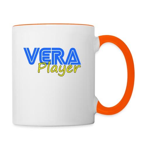 Vera player shop - Taza en dos colores