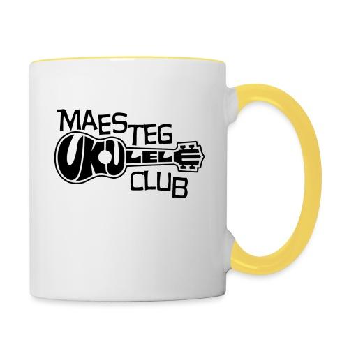 logoborder3 png - Contrasting Mug