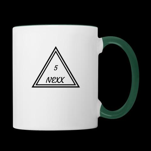 5nexx triangle - Mok tweekleurig