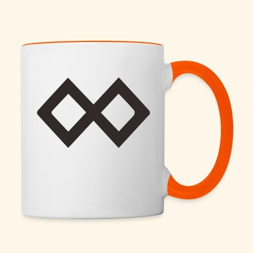 TenX Logo - Tasse zweifarbig