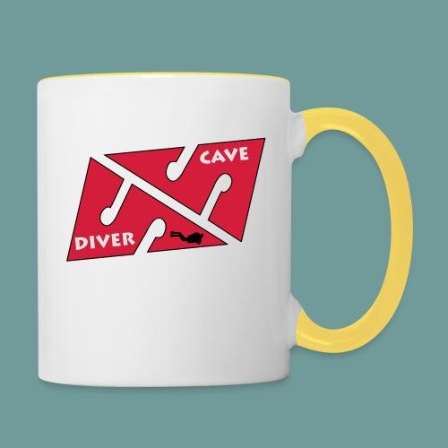 cave_diver_01 - Mug contrasté