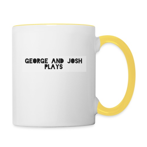 George-and-Josh-Plays-Merch - Contrasting Mug