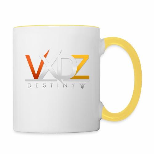 VXDZ - Destiny Mugg/IPhoneskal Design: Tjack-Ove - Tvåfärgad mugg