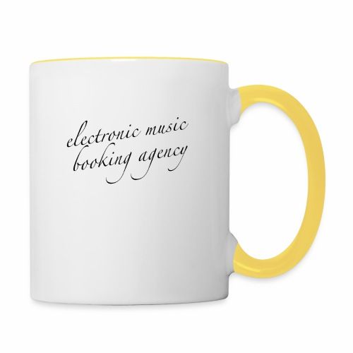JE ... DEMAIN electronic music booking agency - Mug contrasté