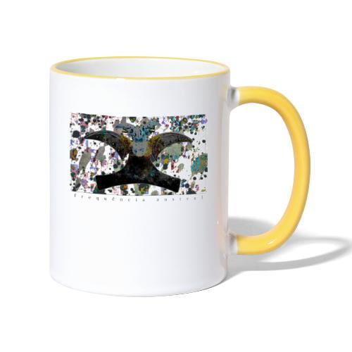 Blue Mojitos (w) - Contrasting Mug