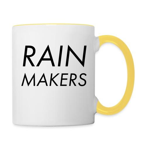 rainmakertext - Kaksivärinen muki