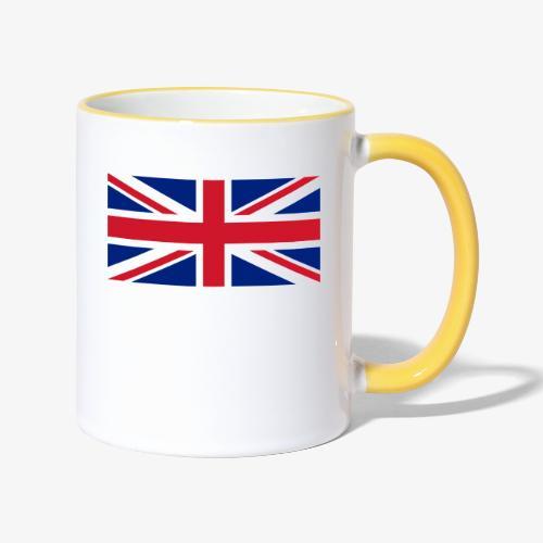 FLAG OF U.K. - Tazze bicolor