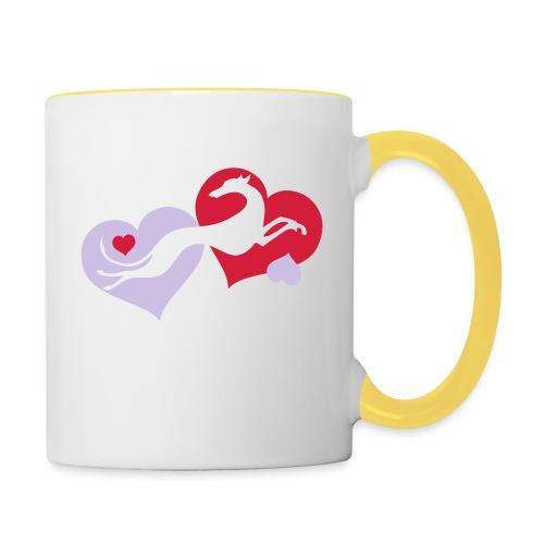 Lévrier Valentin - Mug contrasté