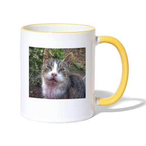 Katze Max - Tasse zweifarbig