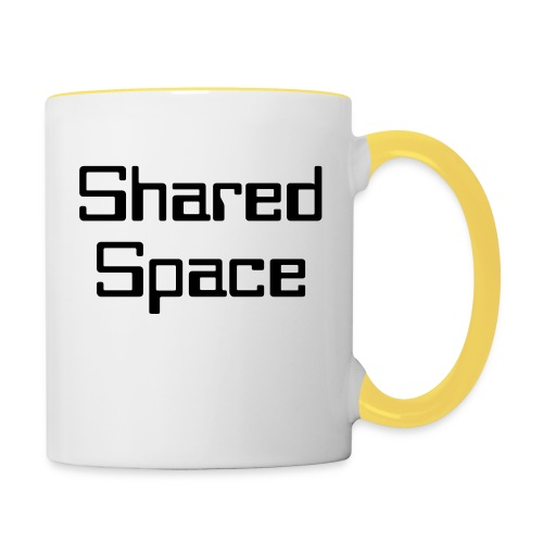 Shared Space - Tasse zweifarbig