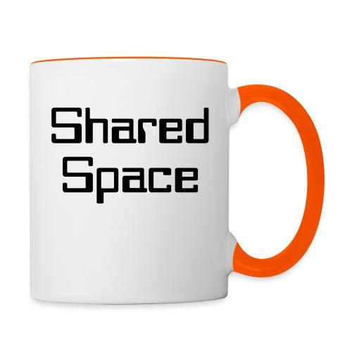 Shared Space - Tasse zweifarbig