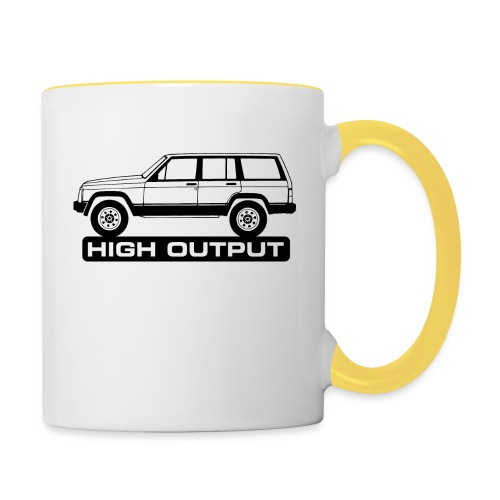 Jeep XJ High Output - Autonaut.com - Contrasting Mug