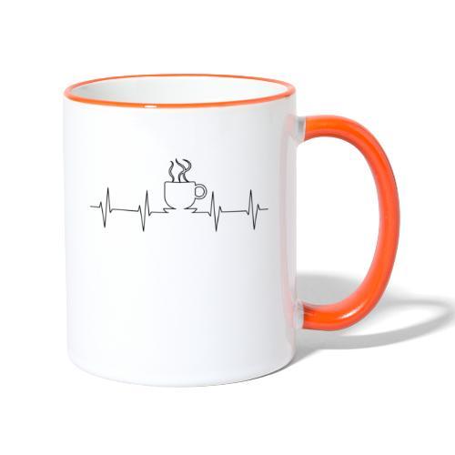 Coffee Time - Tasse zweifarbig