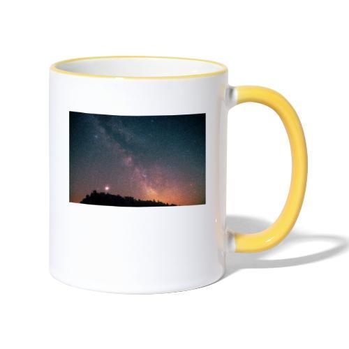 Milchstraße Fotografie Galaktisches Zentrum - Tasse zweifarbig