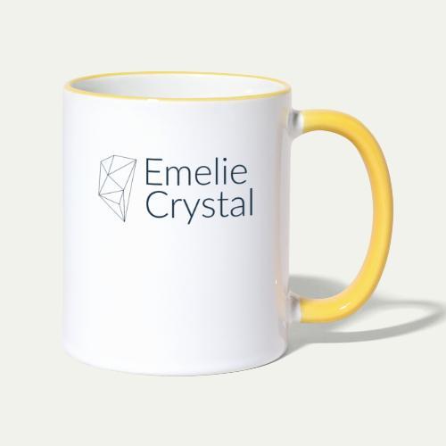 logo transparent background - Contrasting Mug
