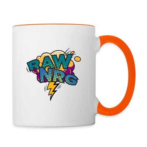 Raw Nrg Comic 1 - Contrasting Mug
