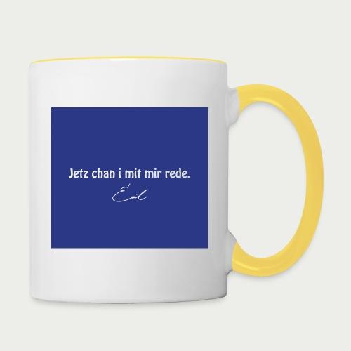 Emil Steinberger Jetz chan i mit mir rede - Tasse zweifarbig