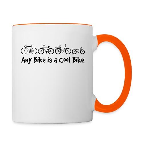 Any Bike is a Cool Bike Kids - Contrasting Mug