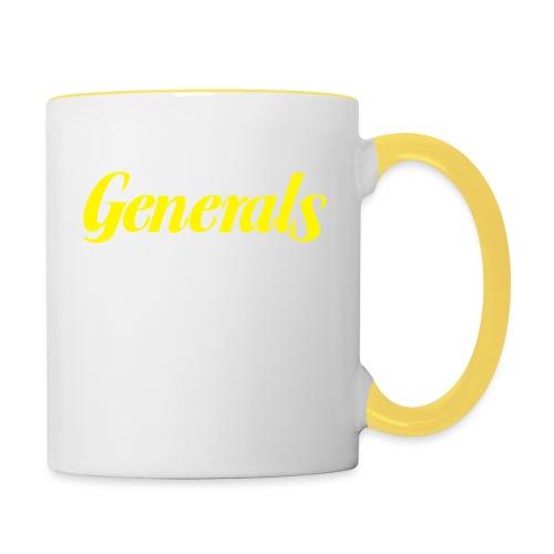 Generals - Tasse zweifarbig