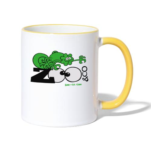 Zooco Chameleon - Contrasting Mug