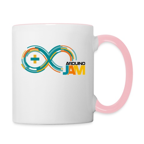 T-shirt Arduino-Jam logo - Contrasting Mug