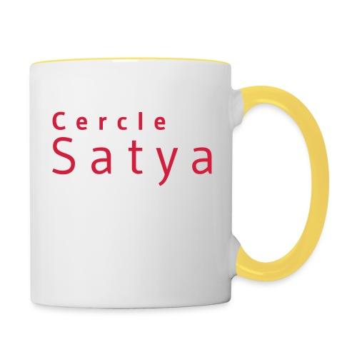 Cercle Satya - Mug contrasté