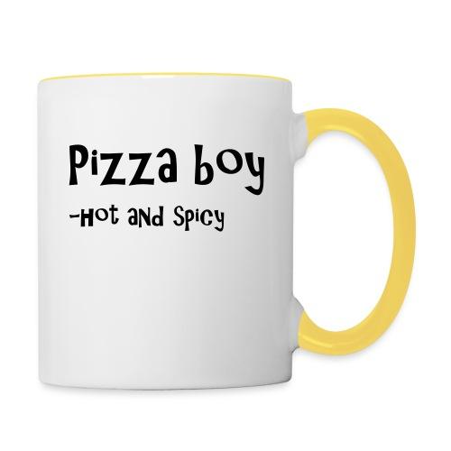 Pizza boy - Tofarget kopp