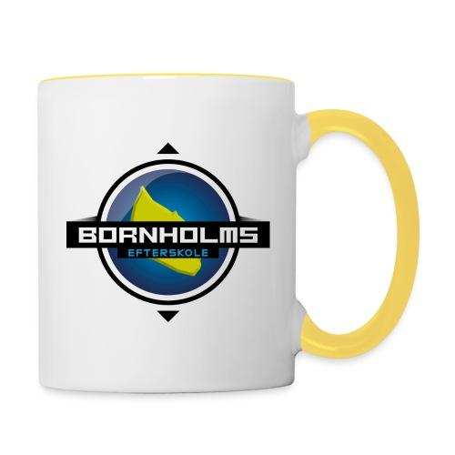 BORNHOLMS_EFTERSKOLE - Tofarvet krus